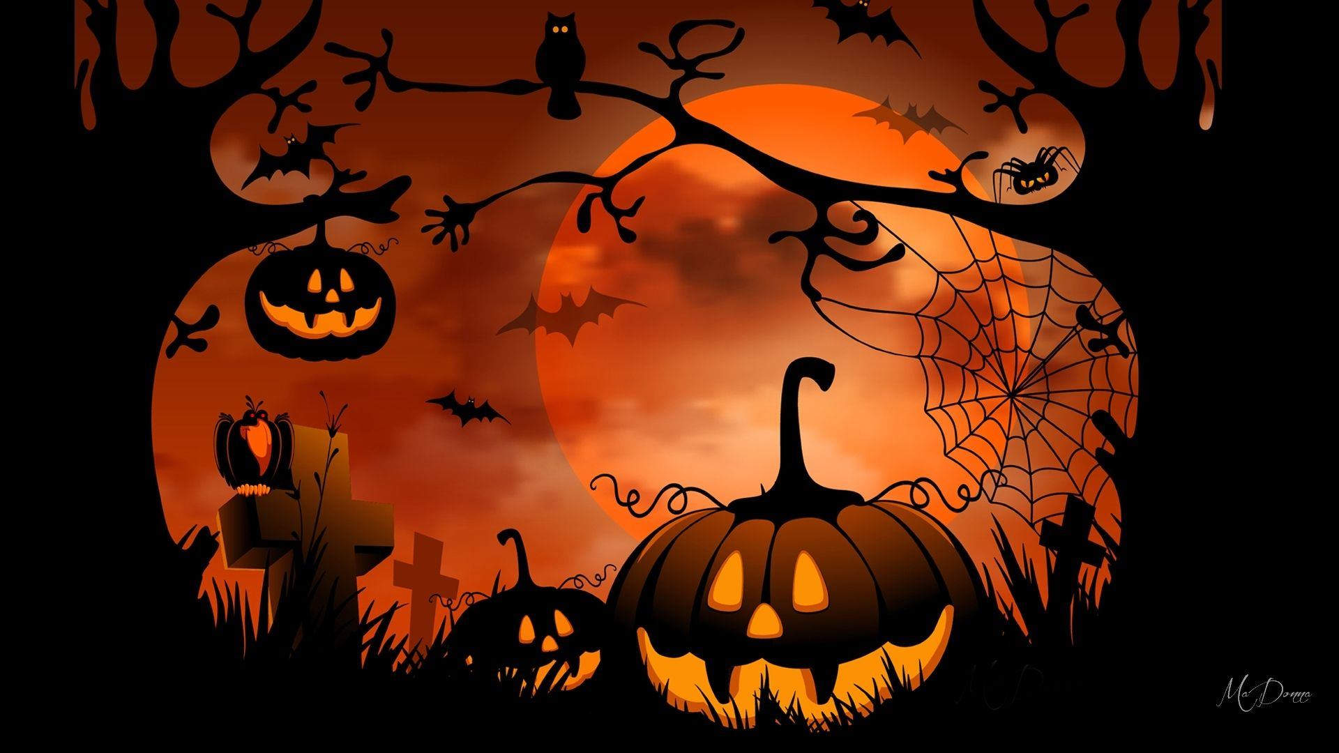 View Download Comment And Rate This 1920x1080 Halloween
