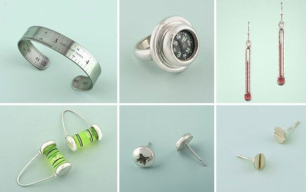 Leeann Herreid Love The Ruler Bracelet Level Earrings Functional Jewelry Jewelry Jewelry Making