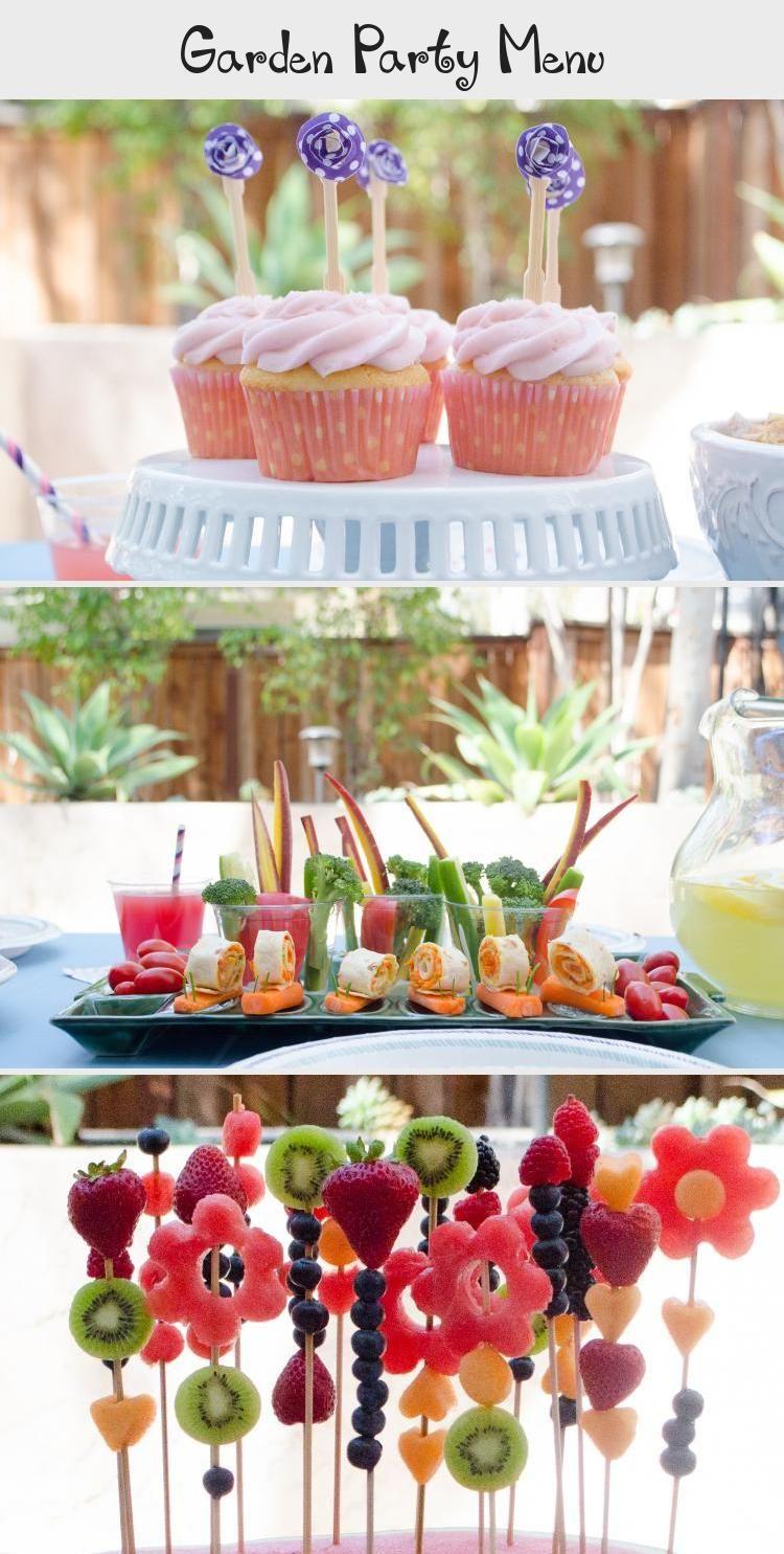 Garden Party Menu From Chefsarahelizabeth Com