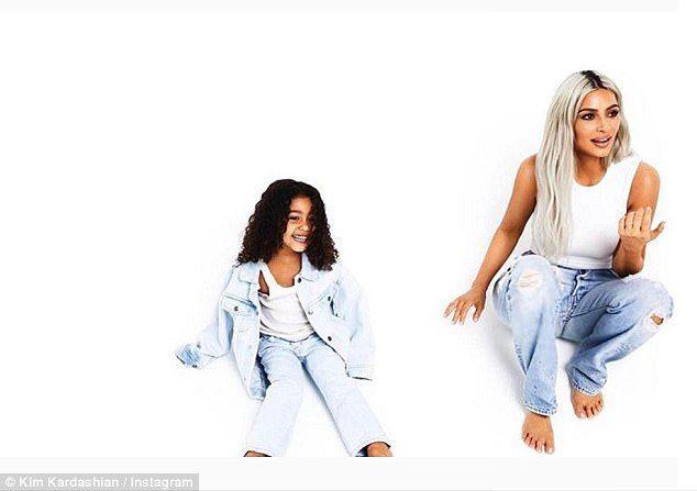 Kris Jenner Shares Photo Of Grandkids Dream And Mason For Day Nine Kim Kardashian And North Kardashian Christmas Kardashian Family