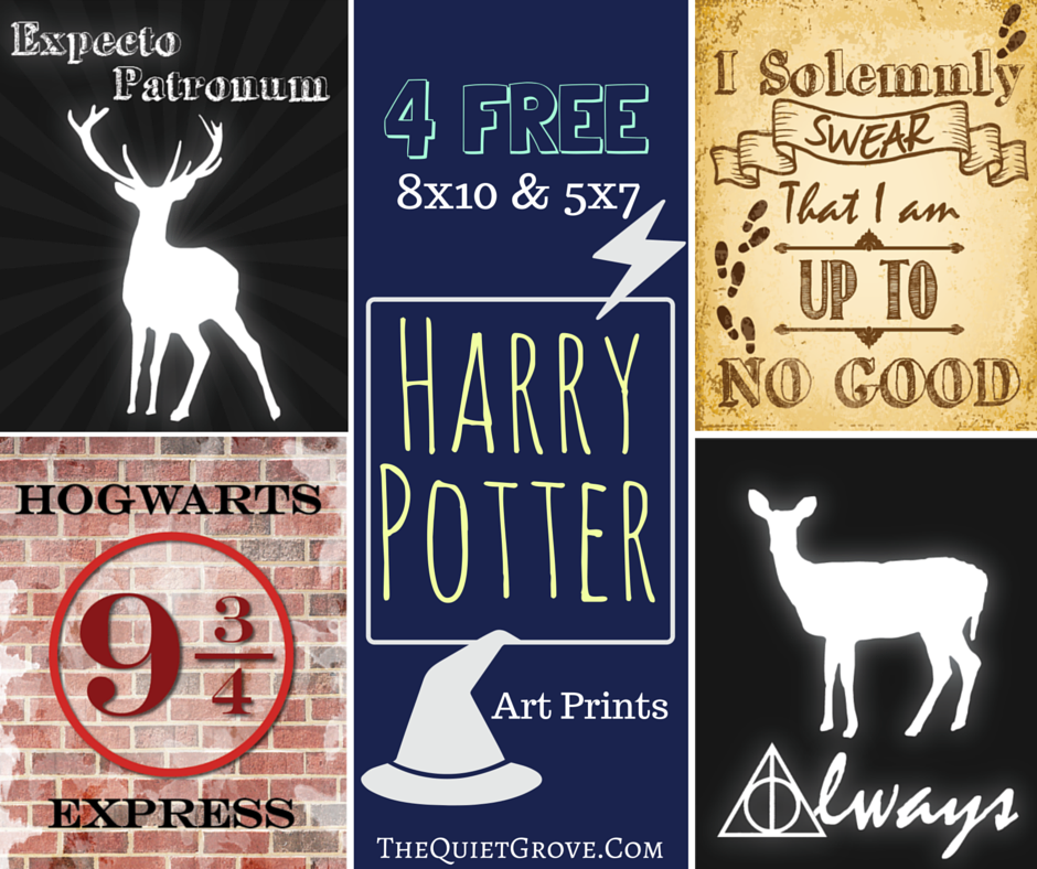 39++ Harry potter printable posters inspirations
