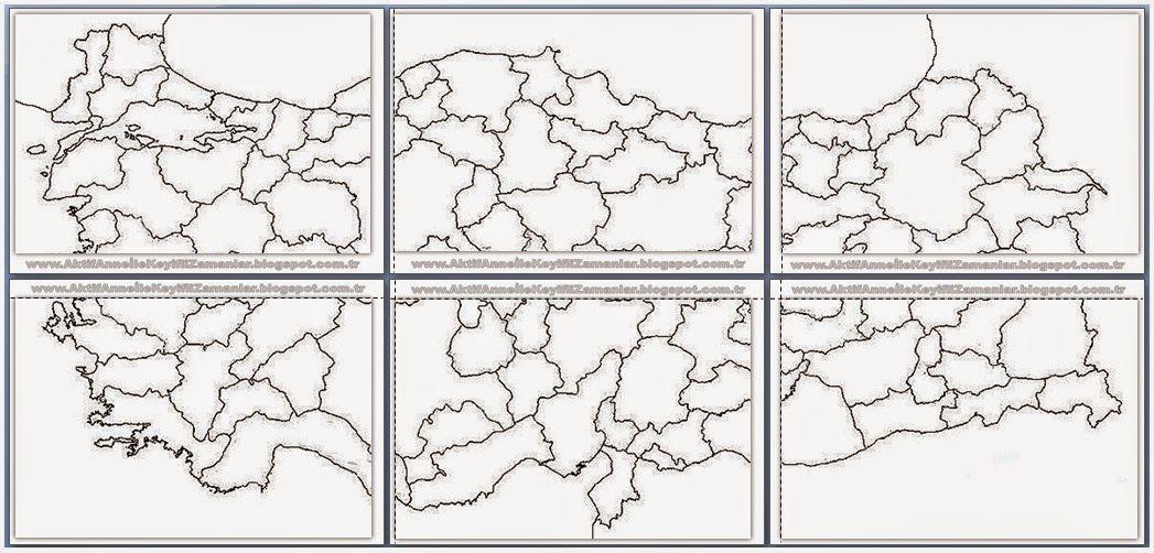 Aklimda Hep Boyle Buyuk Bir Turkiye Haritasi Paylasmak Arzusu Vardi Cok Lazim Oluyor Cesitli Derslerde Etkinliklerde Pano Afis Yap Okul Yatirim Harita