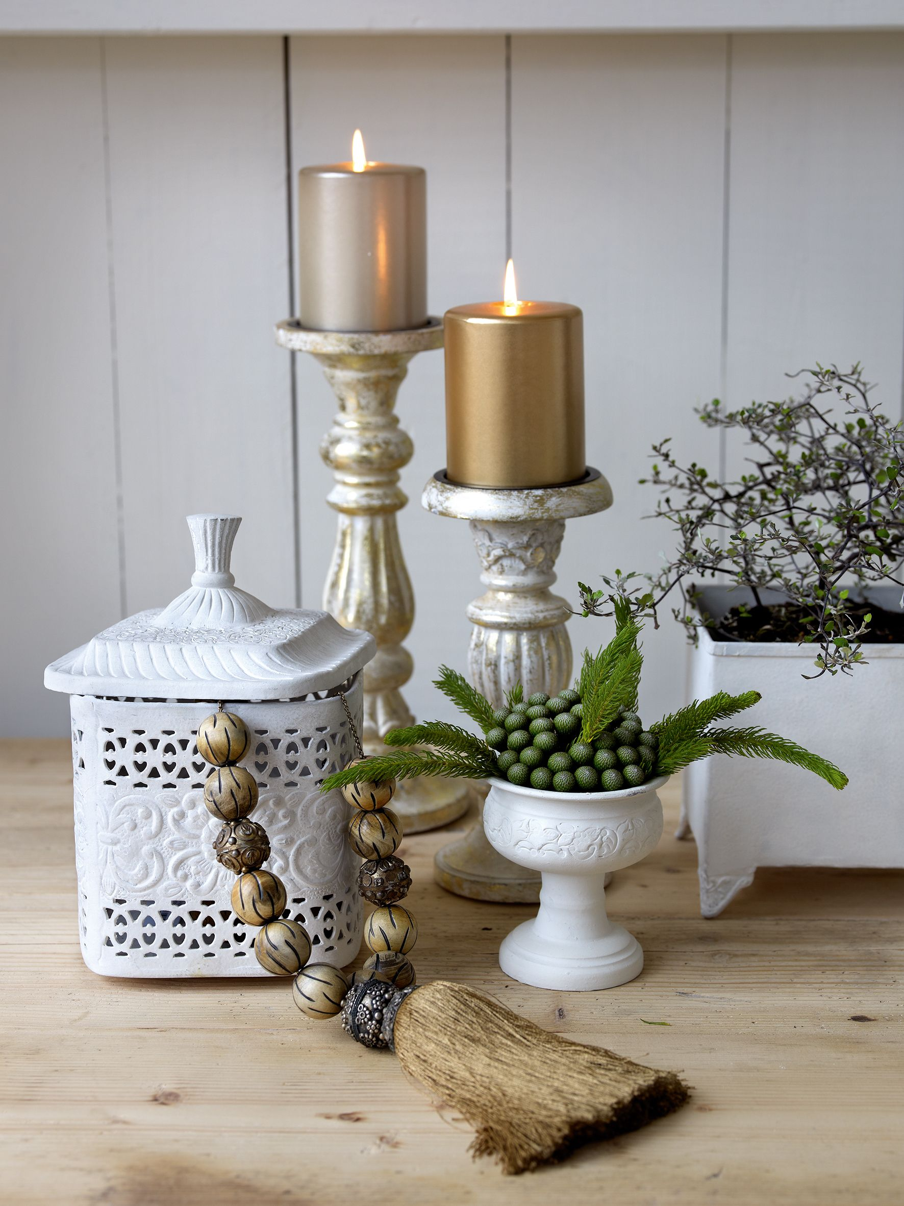 Try gold pillar candles so luxe yet elegant for the home pinterest