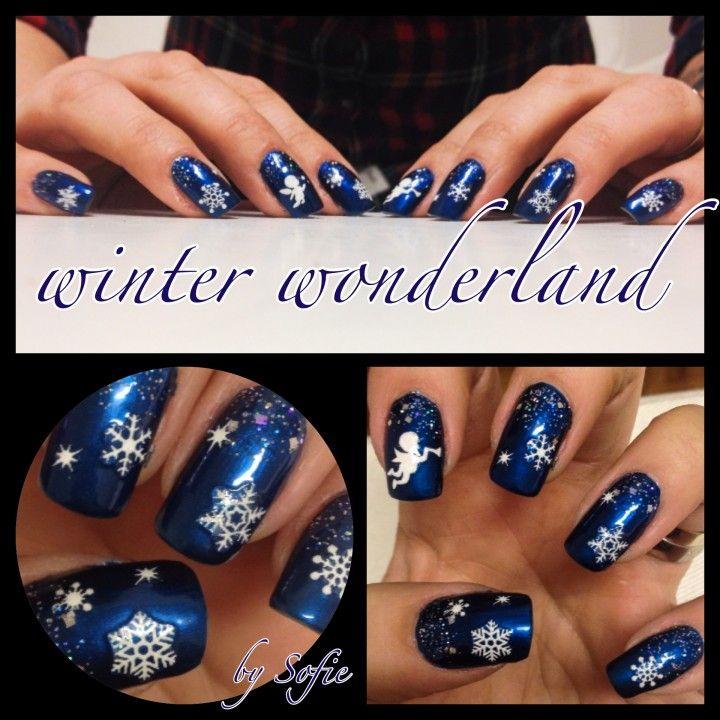 Winter Wonderland Nail Art Pedicures Pinterest Nail Nail