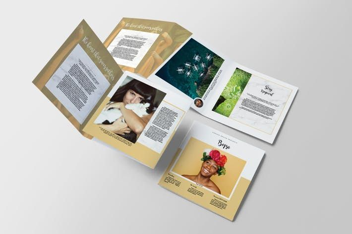 beqsa square trifold brochure by kahuna_design on envato elements - Brochure Templates Envato