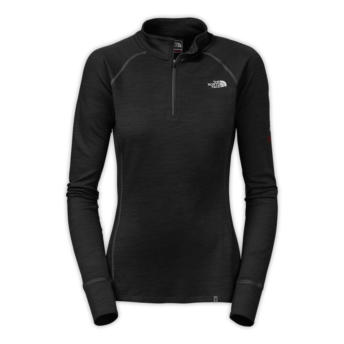 The North Face Women's Shirts & Sweaters WOMEN'S WARM MERINO ZIP NECK