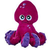 Seaside Summer Floppy Plush Octopus Dog Toy Summer Dog Toys Dog