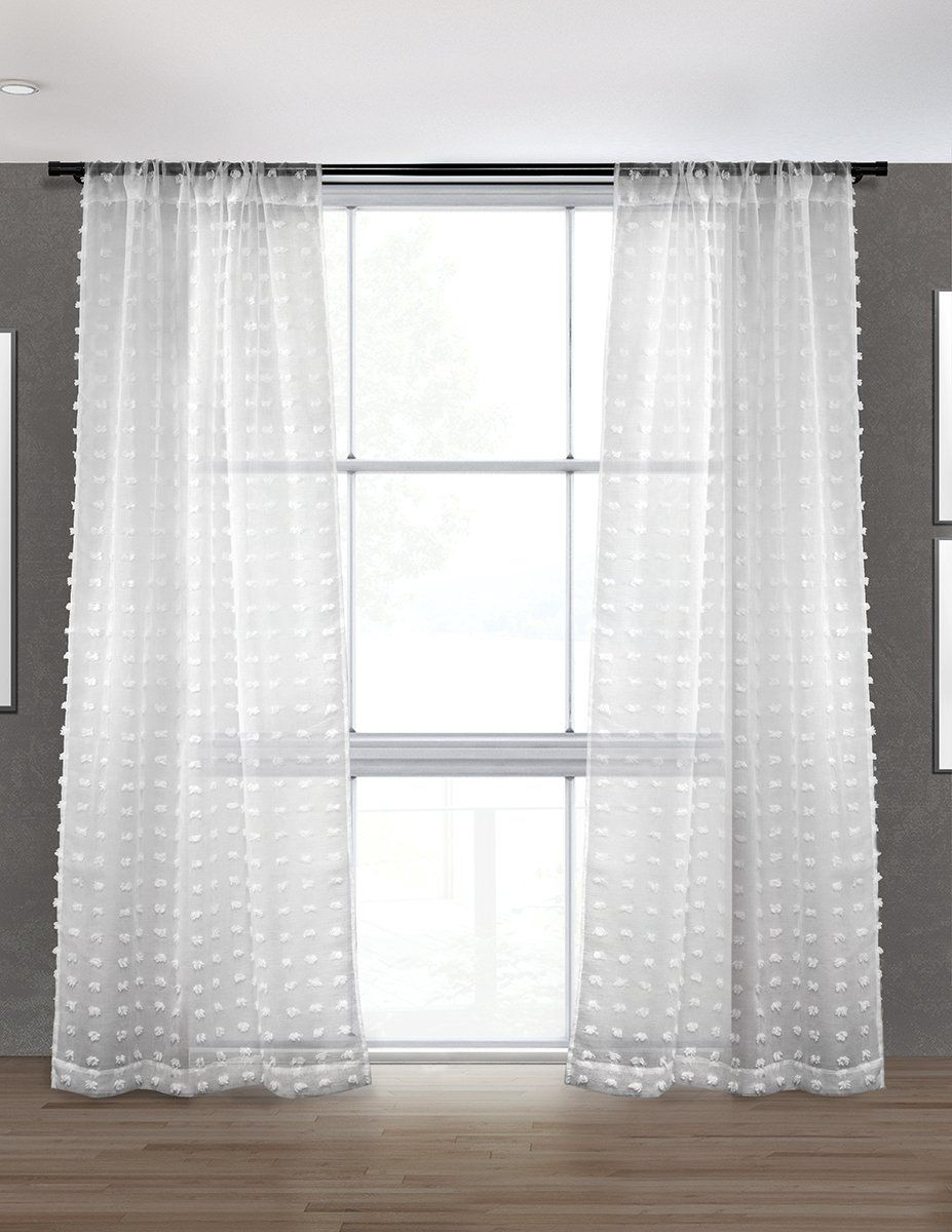 Puffy Sheer Curtain Sold In Pairs Curtains Curtain Styles