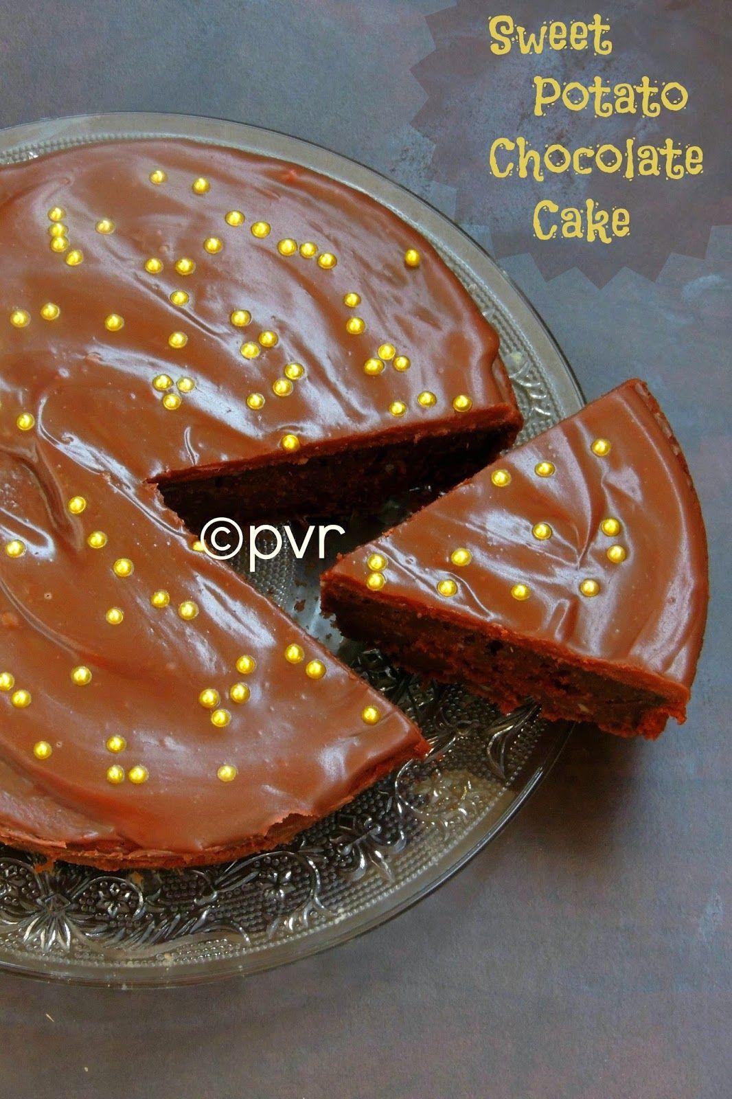 Priya S Versatile Recipes Eggless Sweet Potato Chocolate