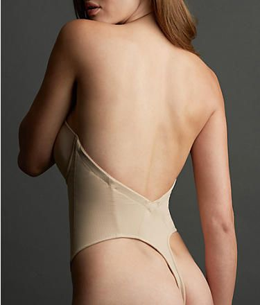611a61de46a4c Va Bien  Strapless Backless Thong Bodysuit  1509