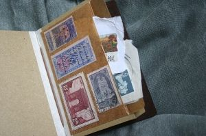Traveler's Notebook Passport Size - custom notebook pocket inserts - stamps