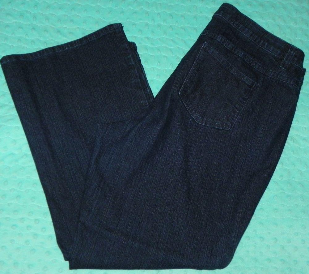 8d07bb2e620 Cato Premium Denim Blue Jeans Size 20WP 40 X 30 Plus Size Dark Wash  Cato   BootCut