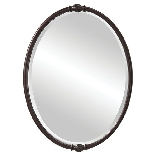feiss jackie oil rubbed bronze mirror | bronze mirror, oil rubbed