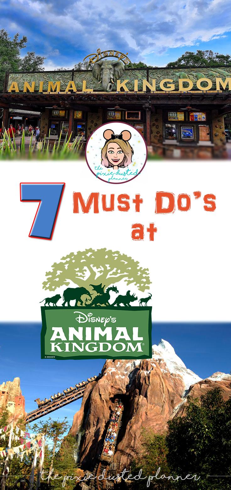 7 Must Do's at Animal Kingdom #animalkingdom