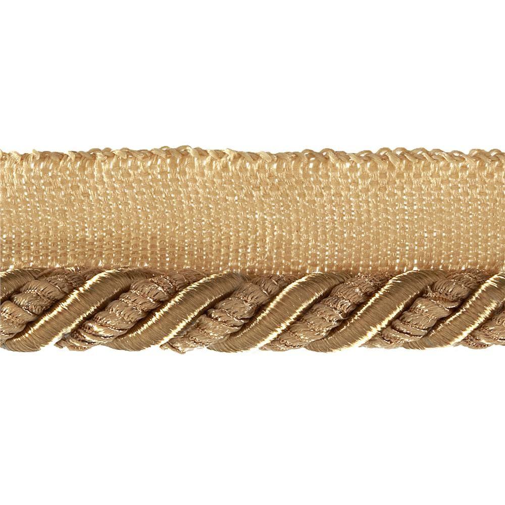 Helena 3 8 Decorative Lip Cord Trim Gold Crafty Fabric