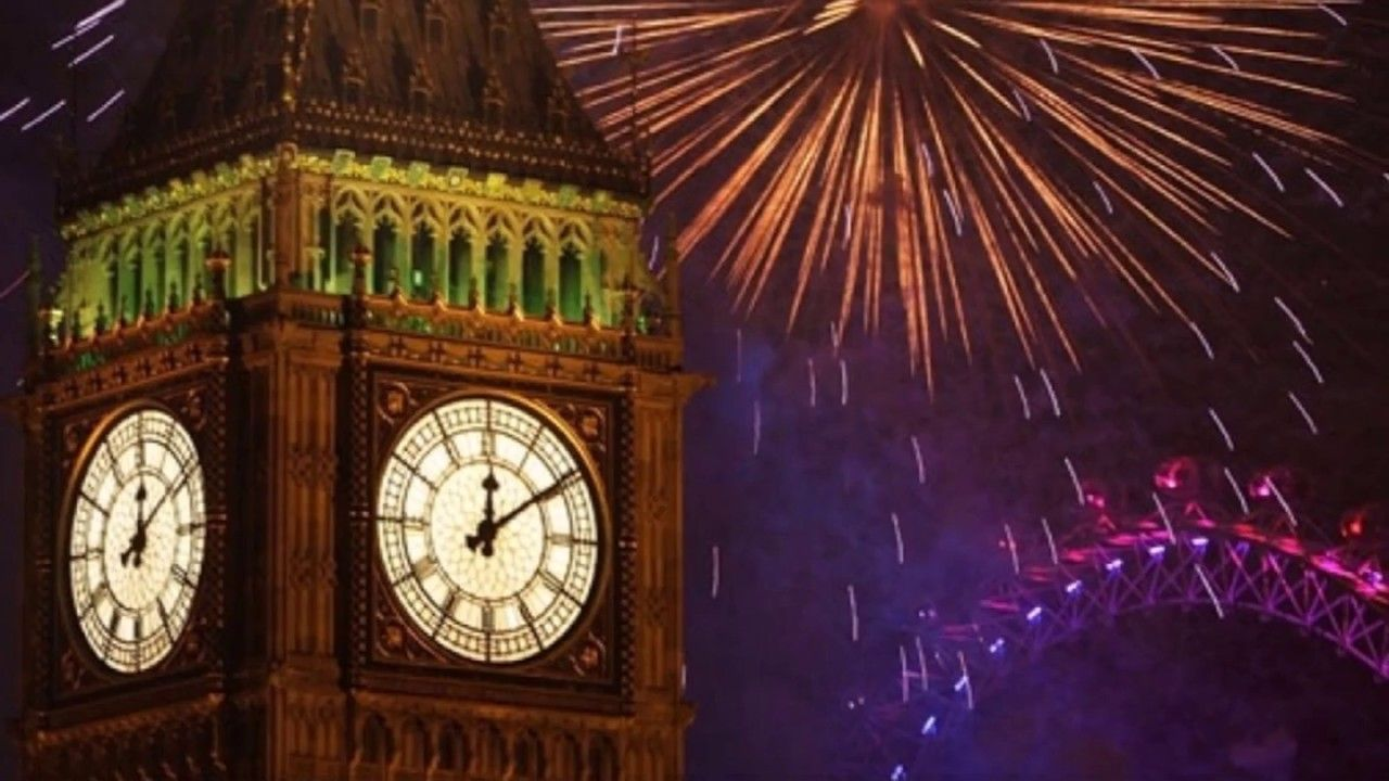 Een jaar is weer voorbij gegaan... Londen, Plaatsen om