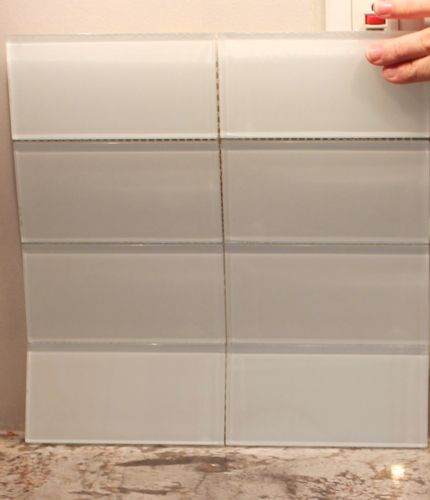 White glass subway tile also best images on pinterest bathroom bathrooms