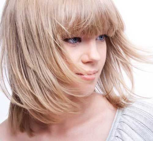 short straight hairstyles for fine hair | short hairstyles 2015