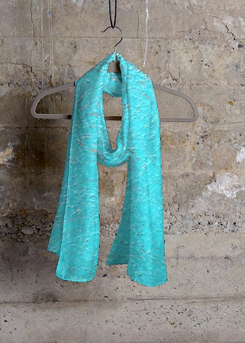 Cashmere Silk Scarf - Beautiful Mind. Foulard En Soie Cachemire - Bel Esprit. By Vida Vida Par Vida Vida hRkkHr