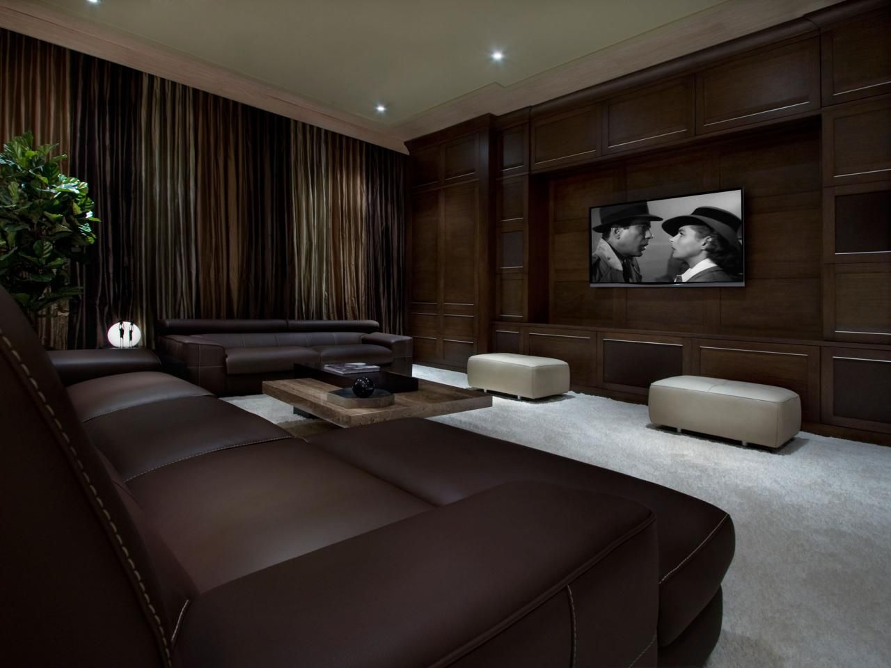 Home Theater Ideas   Design Ideas For Home Theaters | HGTV