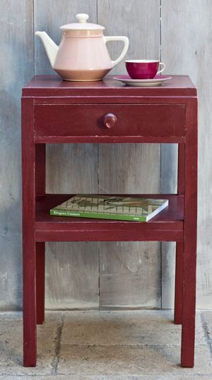 Chalk Paint Primer Red Deep Red Ochre Is A Colour Found In Practically Every Culture From Ve Annie Sloan Painted Furniture Red Chalk Paint Painted Furniture