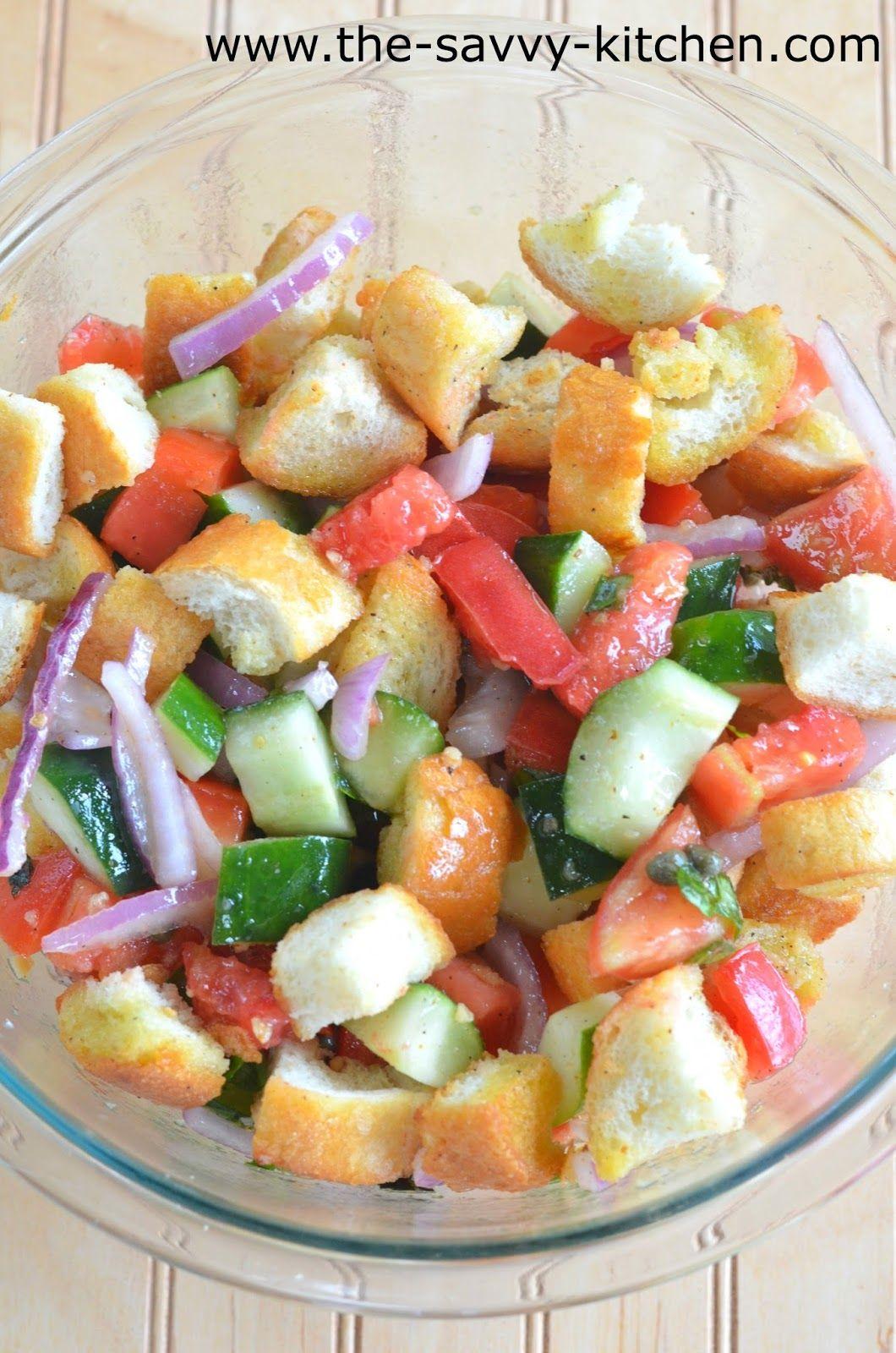 The Savvy Kitchen: Panzanella Salad