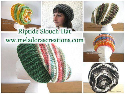Meladoras Creations | Riptide Slouch Hat – Free Crochet Pattern | HO ...