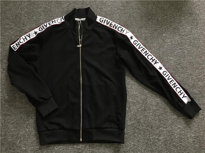 20207f06544c Replica UA Givenchy zipper jacket (Givenchy written on the sides of ...