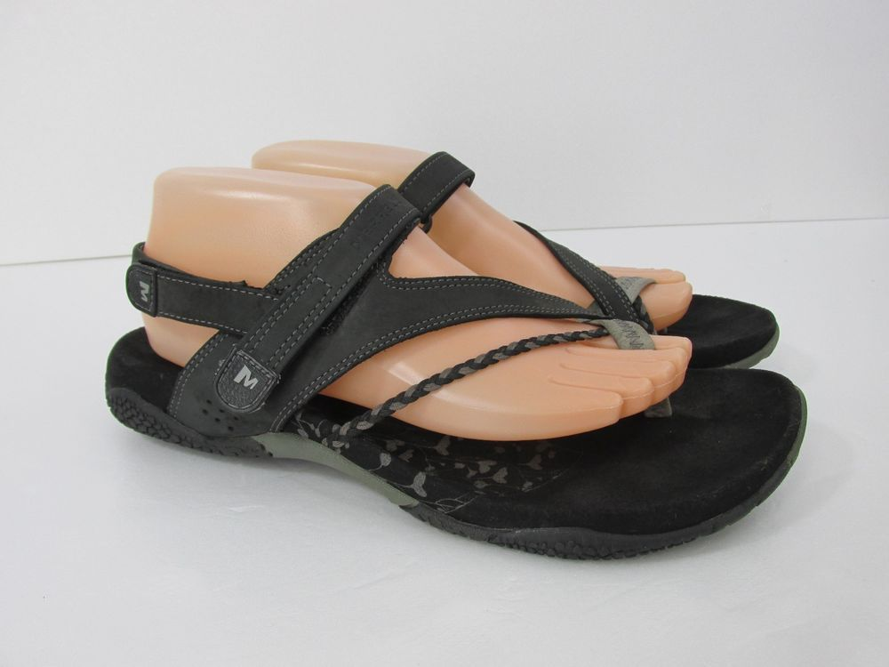 Wedge Leather Solid Casual 10 Sandals & Flip Flops for Women | eBay