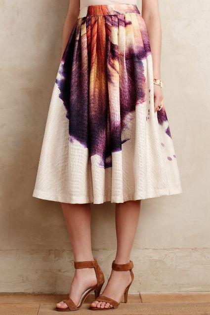 Leilani Midi Skirt - anthropologie.com