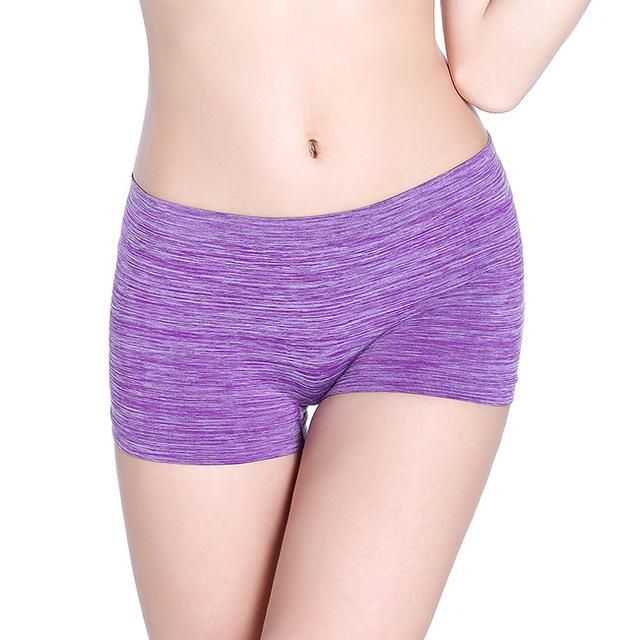 7f8997332af6 Vanilla Sexy Women Ladies Boyshort Casual Comfortable Seamless Boxer Shorts  Culotte Femme Safety Panties Sexy Lingerie Underwear
