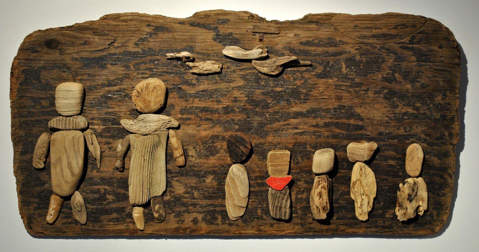 tableau de bois flott de l 39 atelier bertrand bois flott driftwood art pinterest. Black Bedroom Furniture Sets. Home Design Ideas