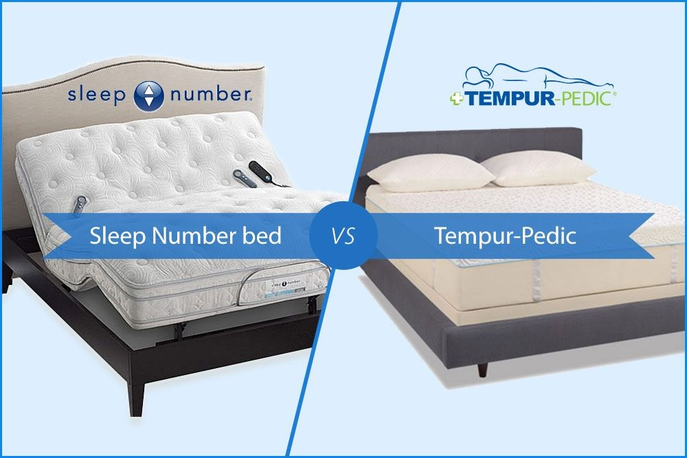 Tempur Pedic Vs Sleep Number Mattresses Which One Is Better If You Are Looking For An Answer To This Ques Sleep Number Bed Sleep Number Mattress Tempurpedic