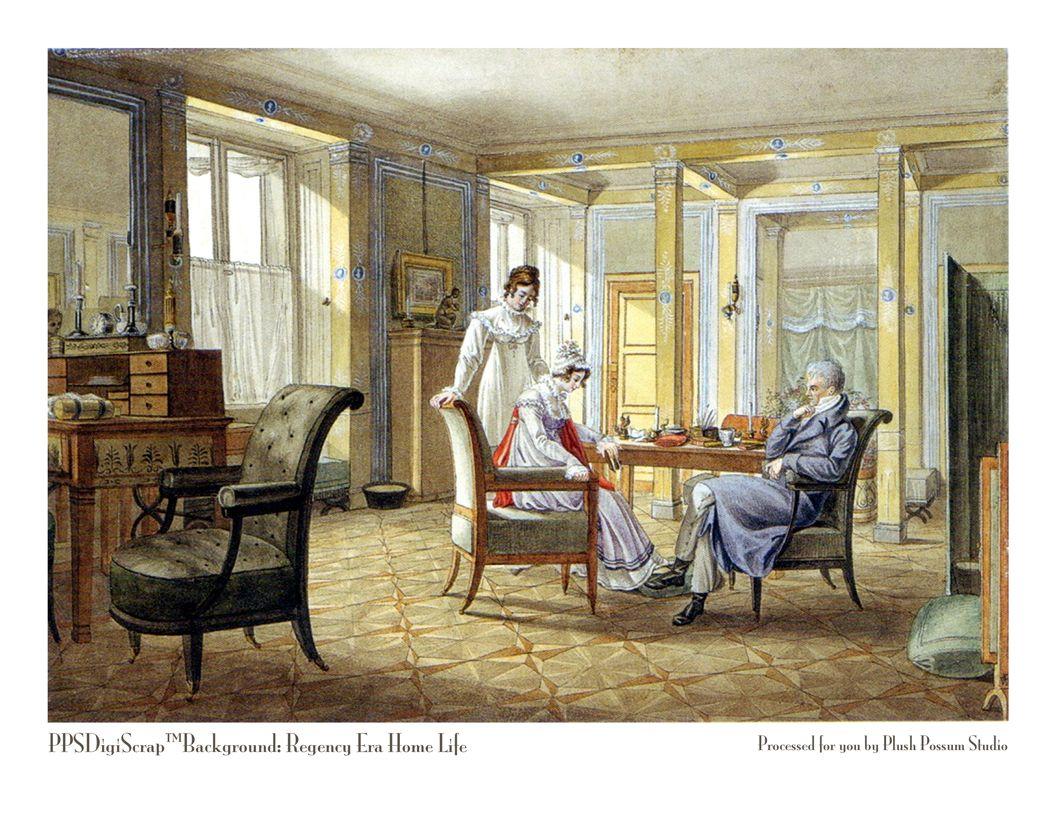 9 Regency Era Typical Dining Room Only Slightly Nicer