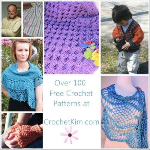 Over 100 Free #Crochet Patterns Right Here