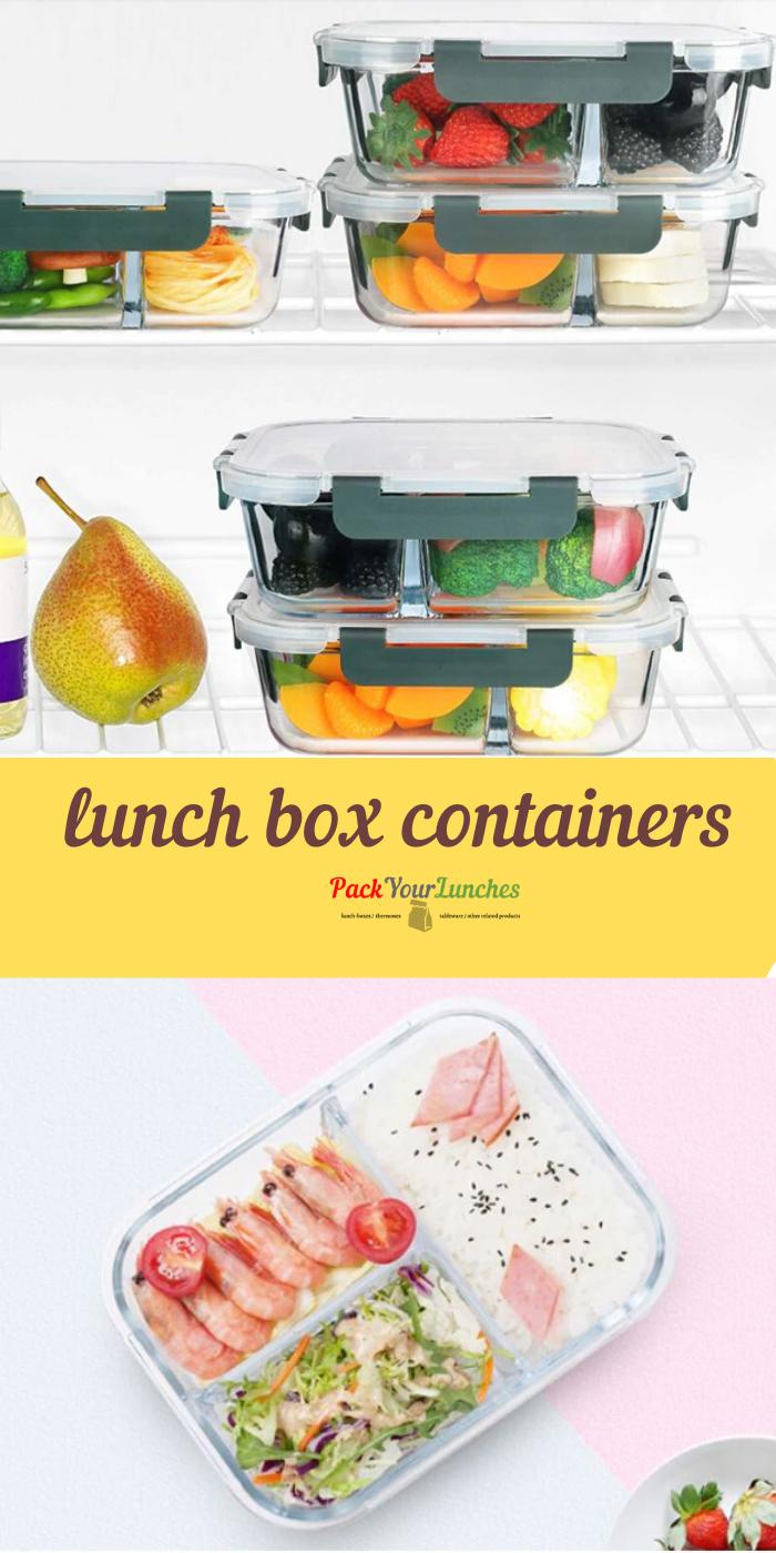 High Quality Borosilicate Glass Food Box Lunch Box Containers Food Containers Lunch Lunch Box