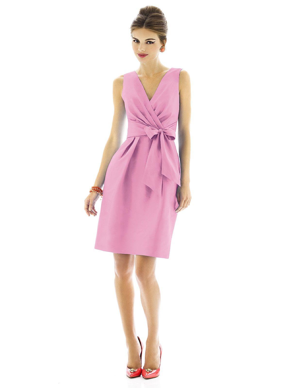 Alfred Sung Bridesmaid Dress D595 | Pinterest