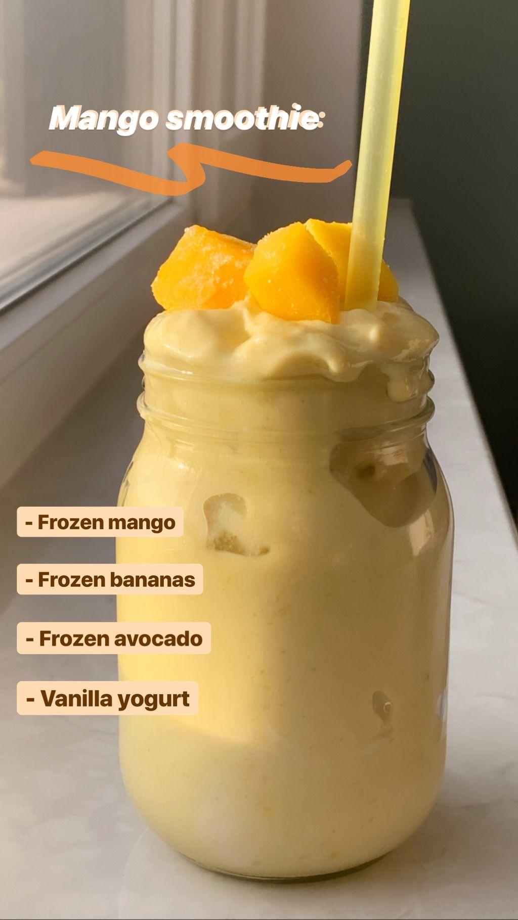 mango smoothie nyttig