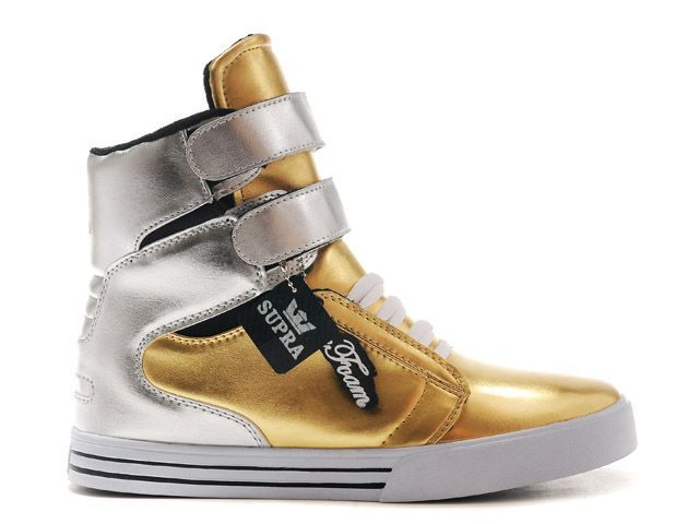 eb8d38d5bb Supra TK Society High Gold/Silver   Real Supra Footwear no fakes ...