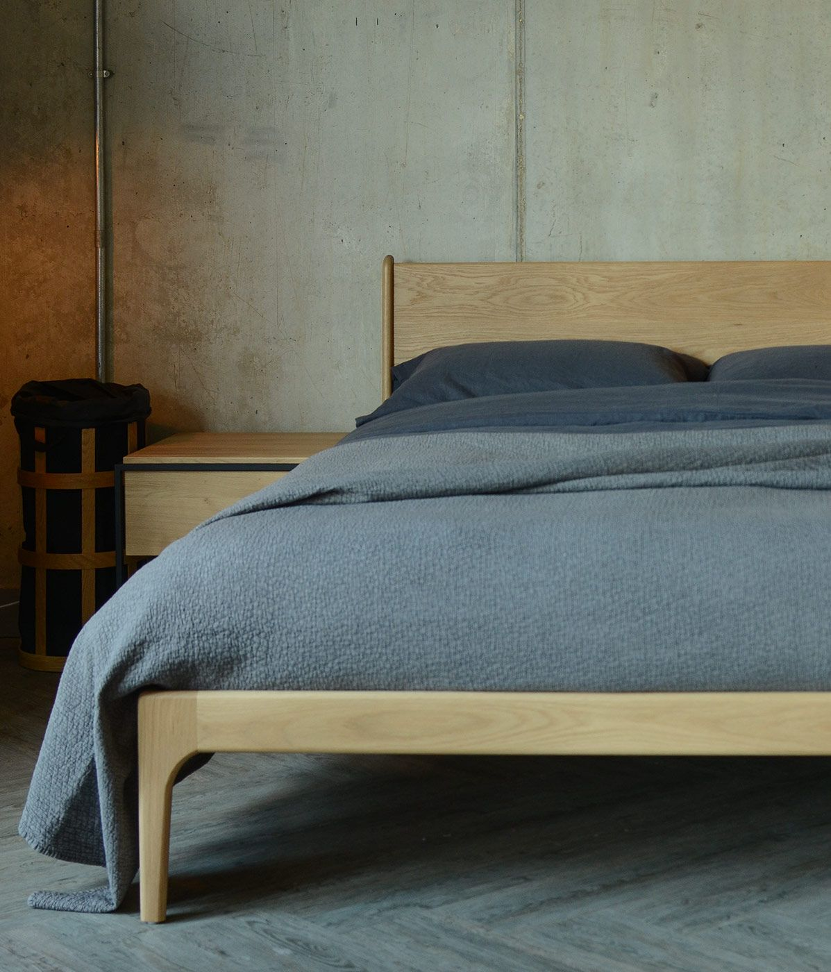 23b7ae378b Solid oak bed handmade in Sheffield by Natural Bed Company | voodi ...