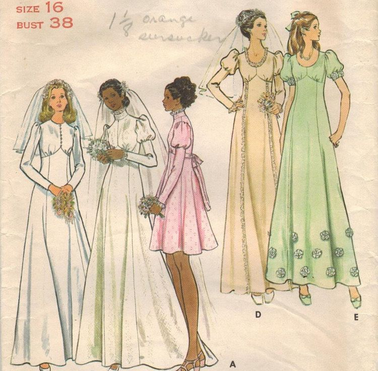 1970s Butterick 6958 Vintage Sewing Pattern by