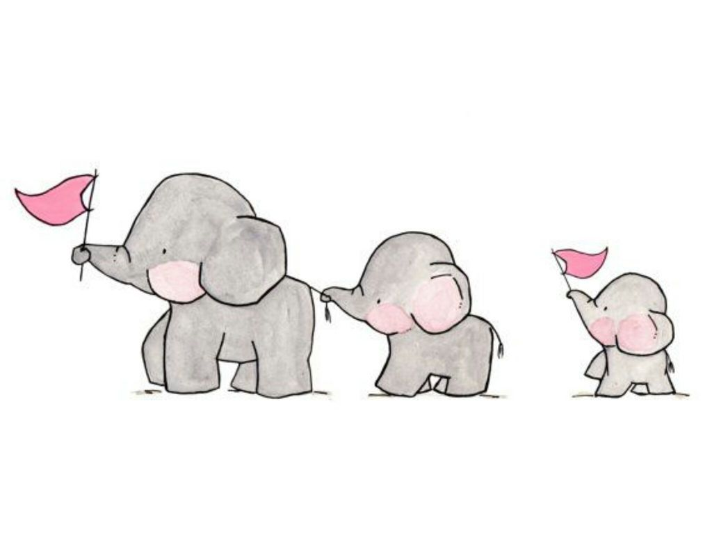Pencil Drawings Elephants Tumblr Pictures Of Drawing Sketch Cute