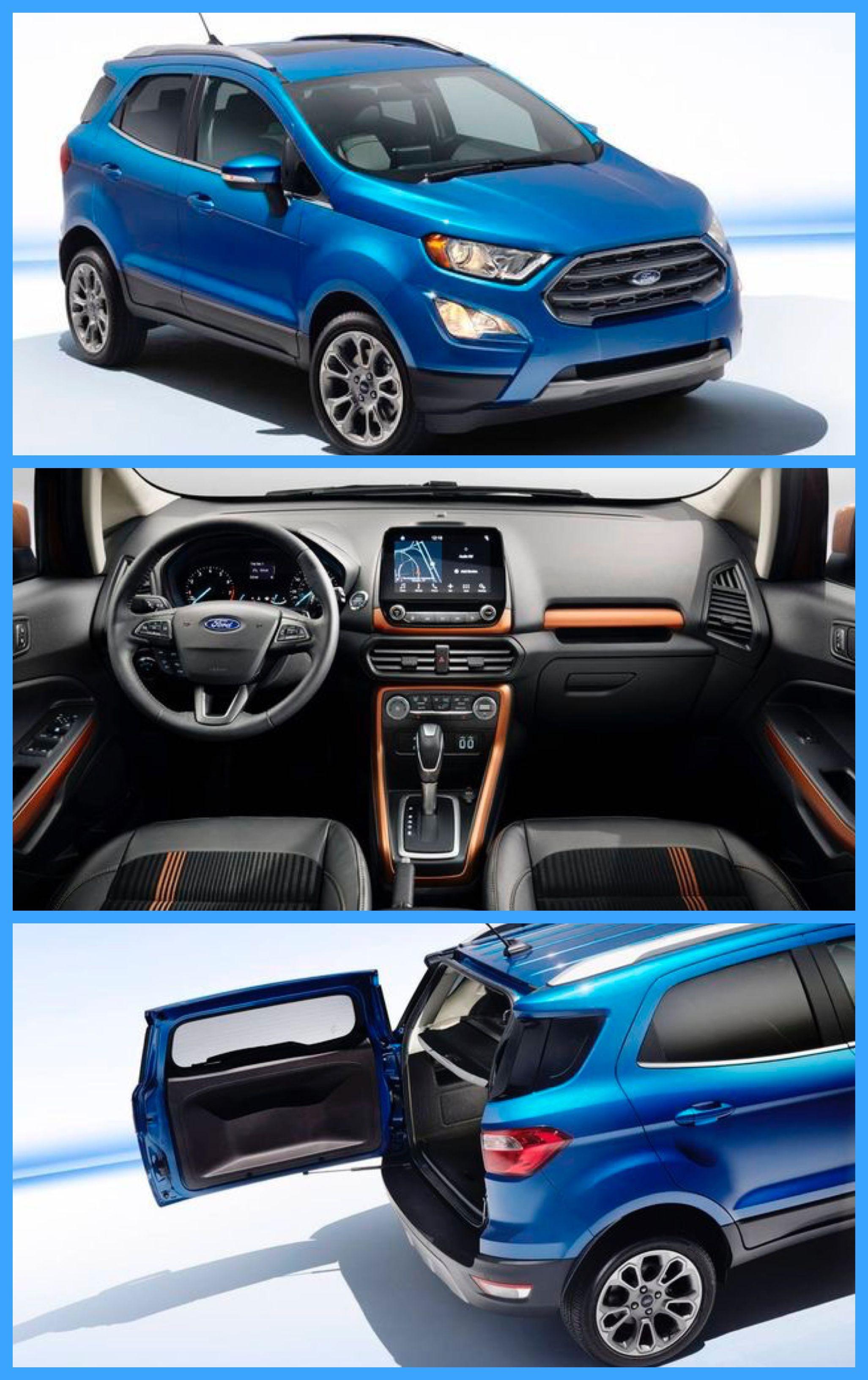 Ford Ecosport Mini Suv Suv Cars Ford Suv