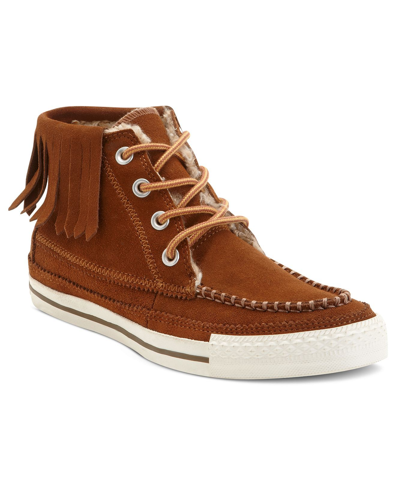 48875bb14aac Converse Women s Chuck Taylor All Star Moc Fringe Sneakers at Macy s ...