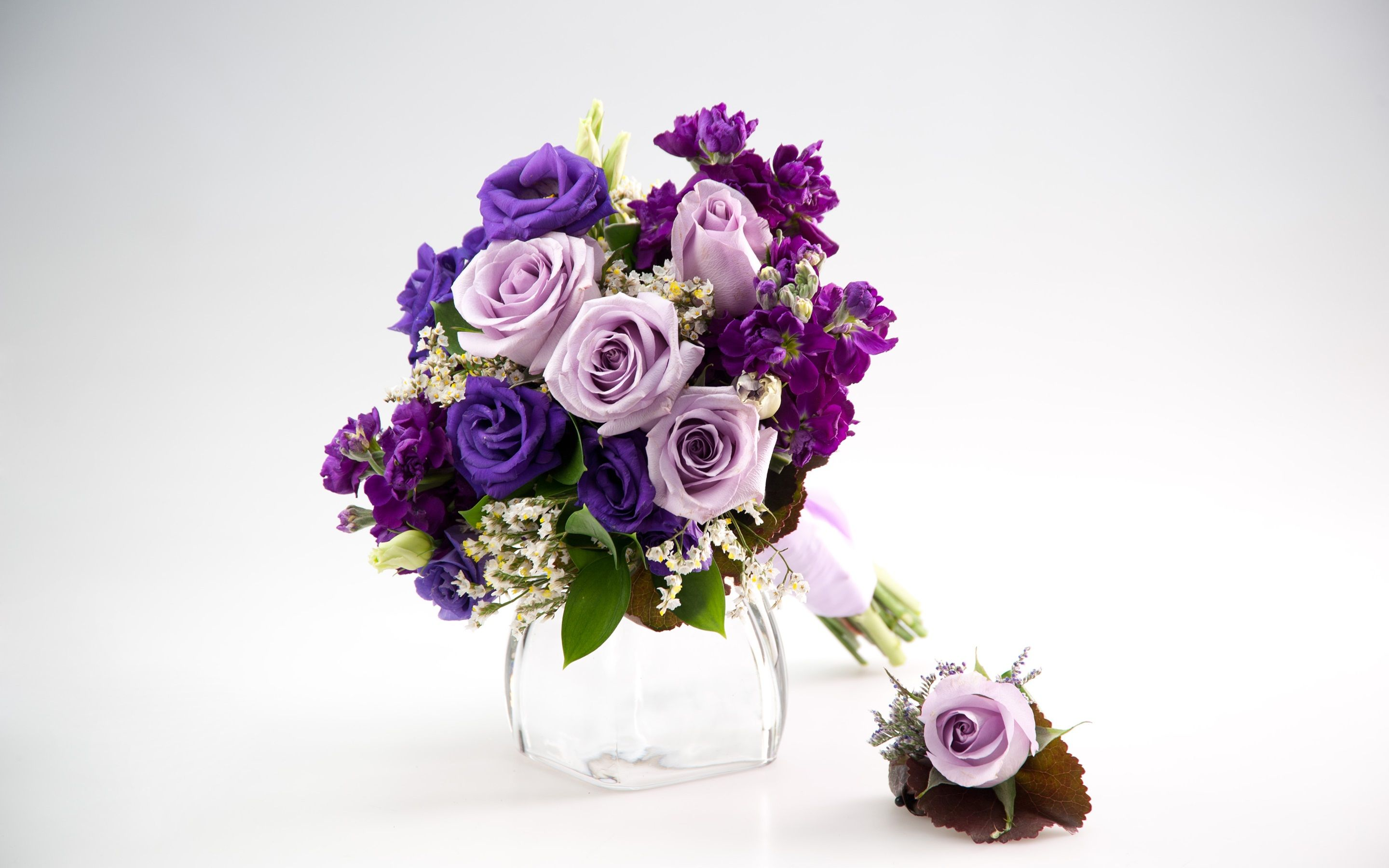 A Lovely Lavender Bouquet To Complement You On Your Day