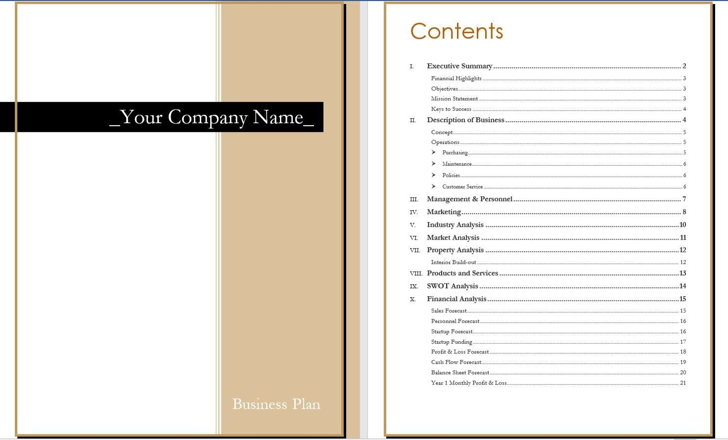 20 Thrift Store Business Plan Template in 2020 Math