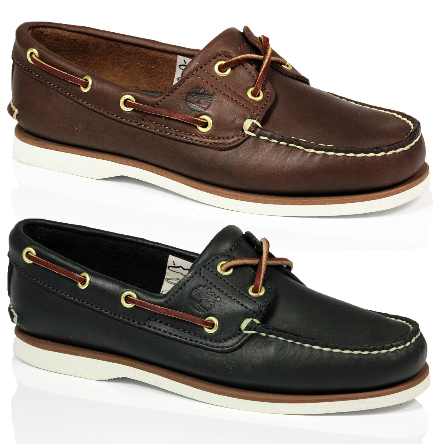 Timberland Classic boat shoes in leather