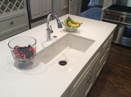 Image result for undermount fireclay sink