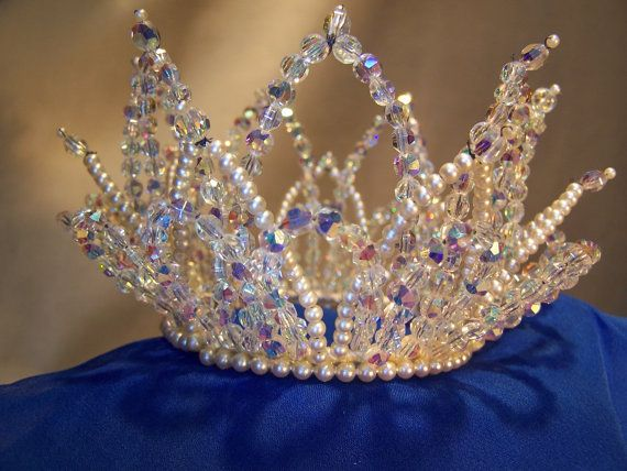 Vintage Bridal Crown Tiara from 1964 by spedus on Etsy, $225.00 #crowntiara