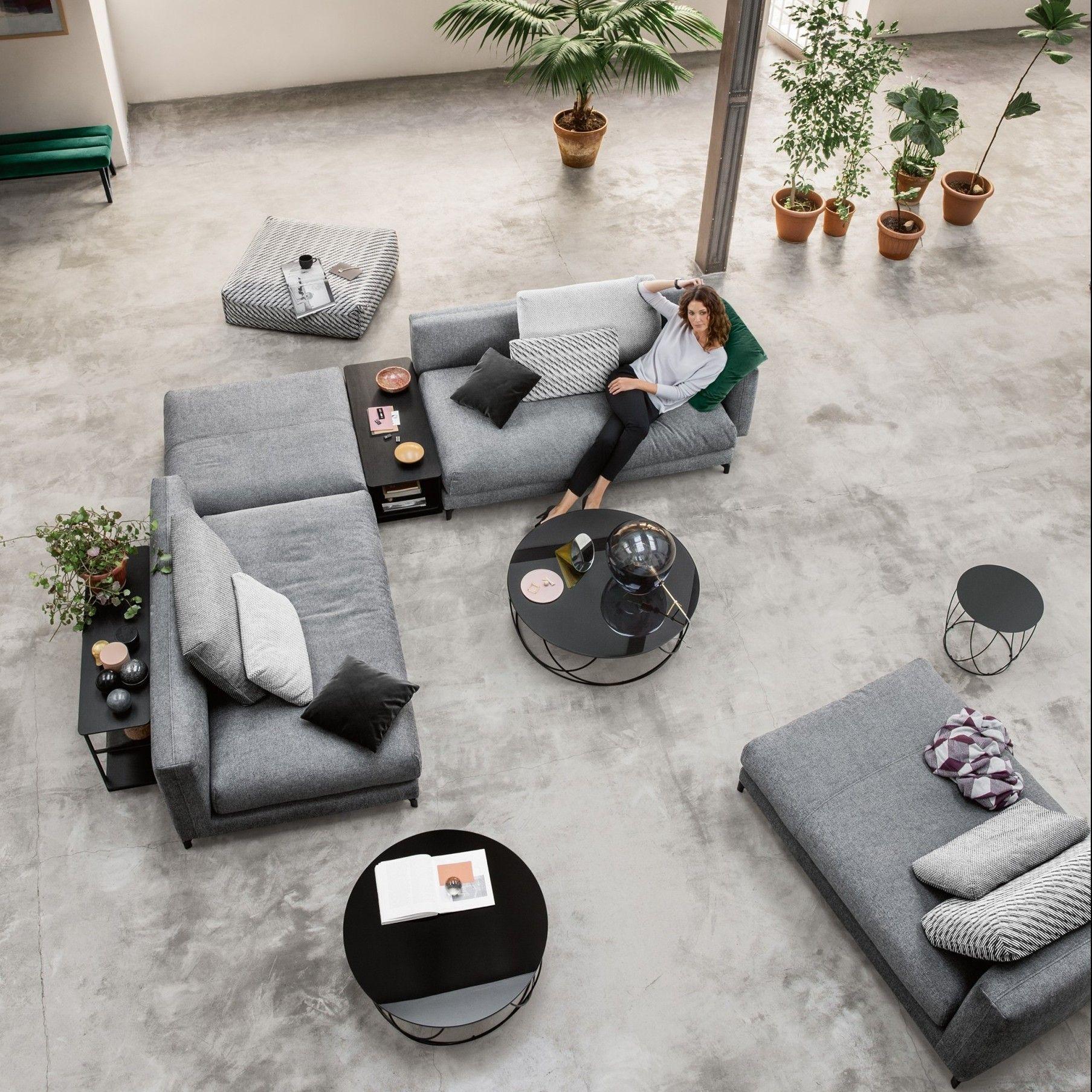 ROLF BENZ Nuvola Sofa | interieur Sanne | Pinterest | Wohnzimmer ...